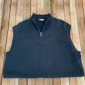 Peter Millar Men's 1/4 Zip Vest | Size Large